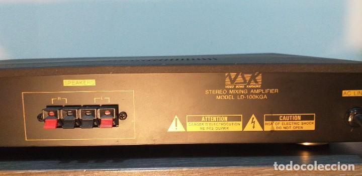 Radios antiguas: AMPLIFICADOR VSK. Modelo LD-100KGA. - Foto 7 - 232656478