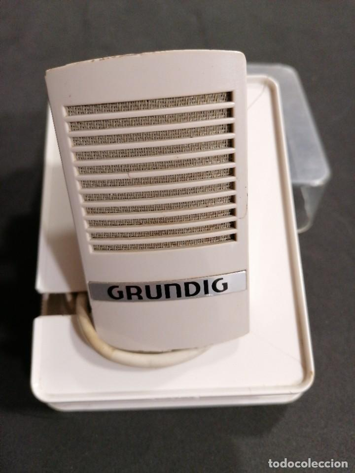 MICRÓFONO GRUNDIG GDM 16 (Radios, Gramófonos, Grabadoras y Otros - Amplificadores y Micrófonos de Válvulas)
