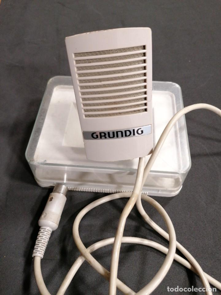Radios antiguas: Micrófono Grundig GDM 16 - Foto 2 - 234705580