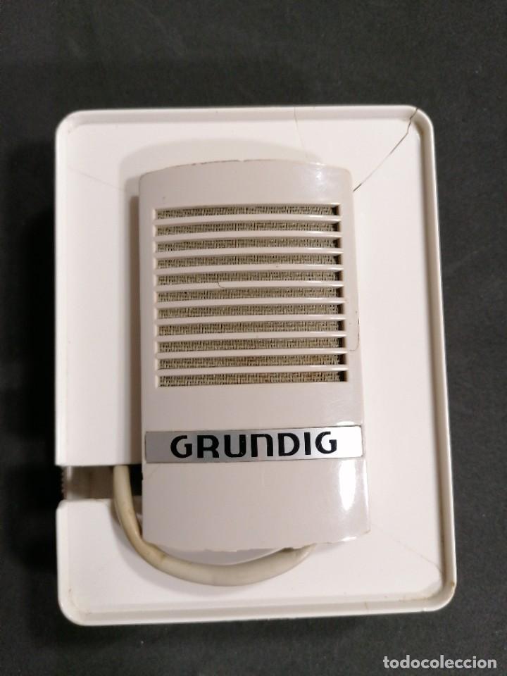 Radios antiguas: Micrófono Grundig GDM 16 - Foto 6 - 234705580