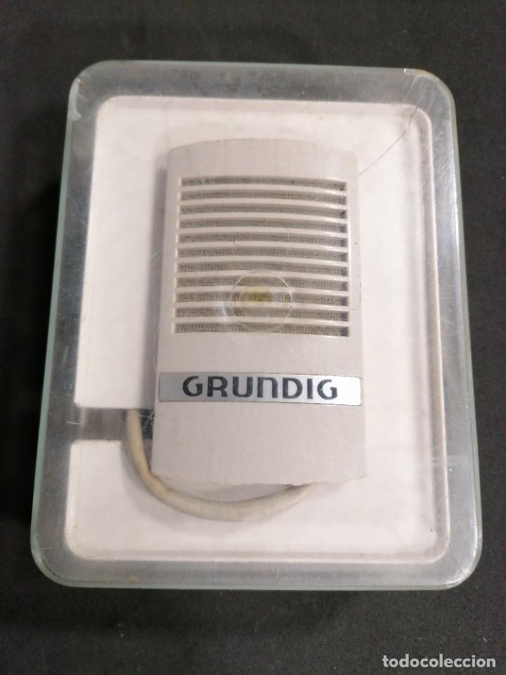 Radios antiguas: Micrófono Grundig GDM 16 - Foto 7 - 234705580