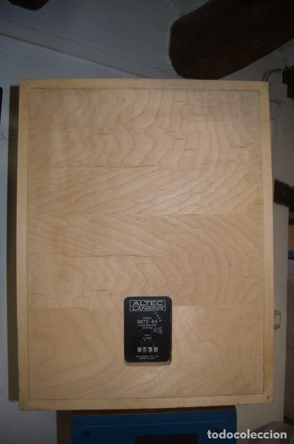 Radios antiguas: ALTEC LANSING Model 9872-8A Speaker (Solo una unidad) - Foto 2 - 234924165