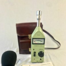 Radio antiche: SONOMETRO SU-144 PROMAX. COLECCIÓN INST. LEONARDO TORRES QUEVEDO MADRID.. Lote 235509930