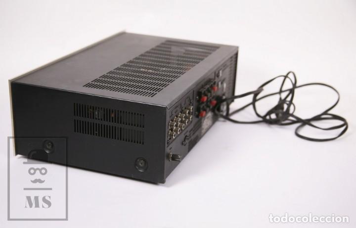 Radios antiguas: Amplificador Pioneer Stereo Amplifier SA-5500 II - Frontal Aluminio - Medidas 38 x 26 x 12,5 cm - Foto 5 - 235635905