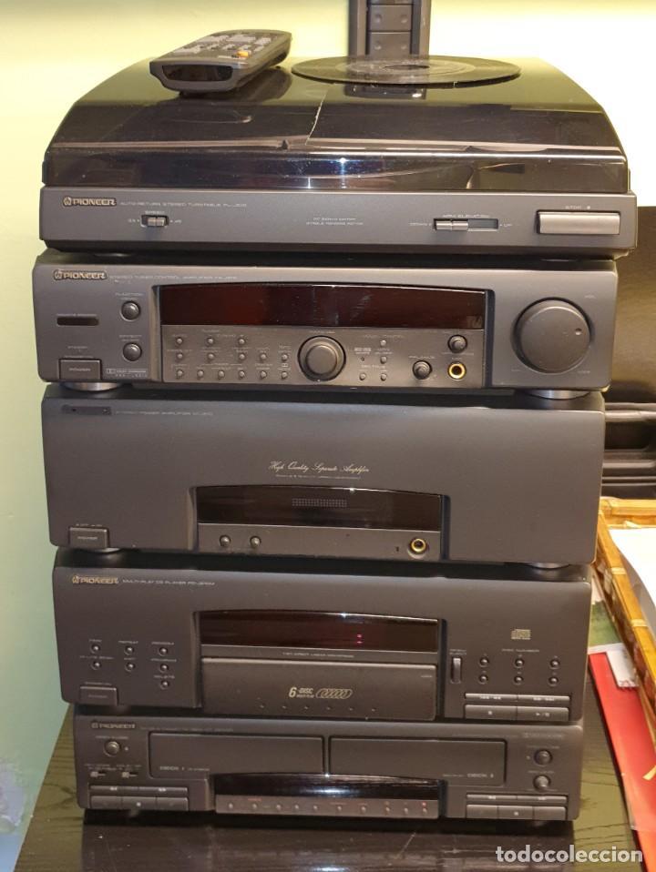 EQUIPO DE MUSICA MODULAR PIONEER J910, J510 J210 (Radios, Gramófonos, Grabadoras y Otros - Amplificadores y Micrófonos de Válvulas)