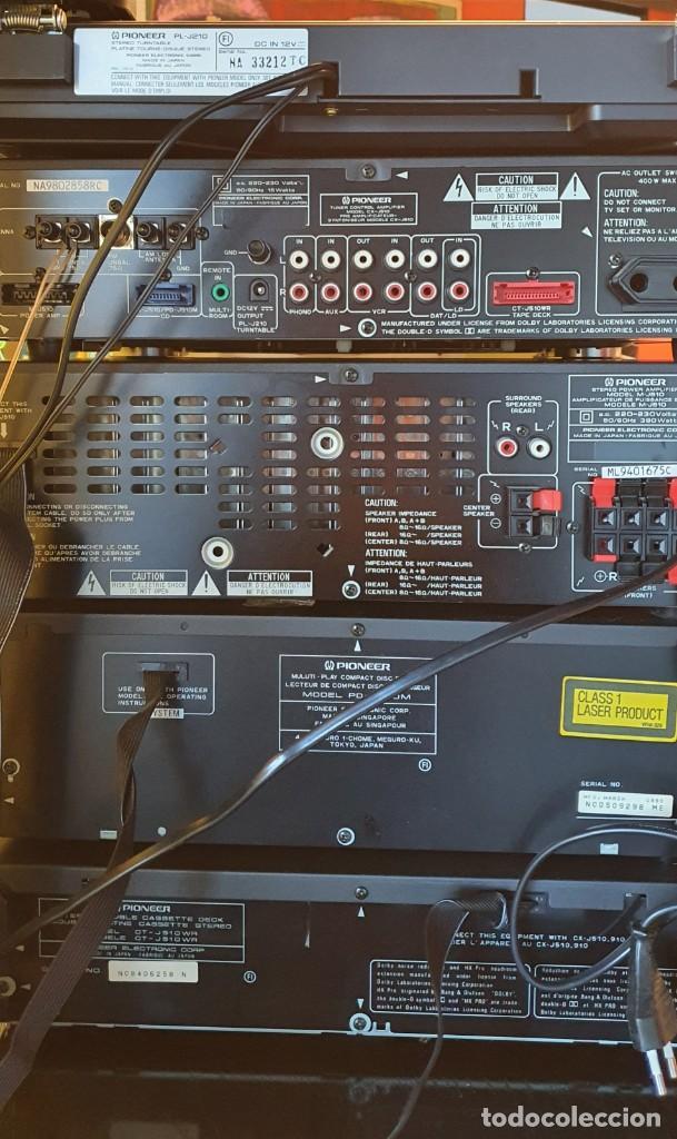 Radios antiguas: EQUIPO DE MUSICA MODULAR PIONEER J910, J510 J210 - Foto 3 - 237433295