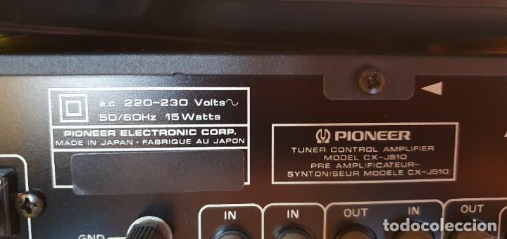 Radios antiguas: EQUIPO DE MUSICA MODULAR PIONEER J910, J510 J210 - Foto 11 - 237433295
