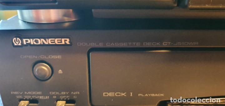 Radios antiguas: EQUIPO DE MUSICA MODULAR PIONEER J910, J510 J210 - Foto 19 - 237433295
