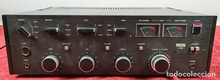 AMPLIFICADOR STEREO VIETA MODELO A-3095. VIETA ELECTRONICS. ESPAÑA. 1978. (Radios, Gramófonos, Grabadoras y Otros - Amplificadores y Micrófonos de Válvulas)
