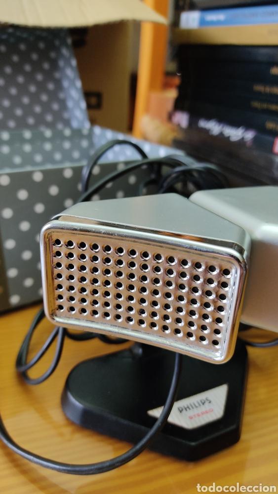 Radios antiguas: Antiguo microfono stereo PHILIPS N8402 - Foto 3 - 243993870