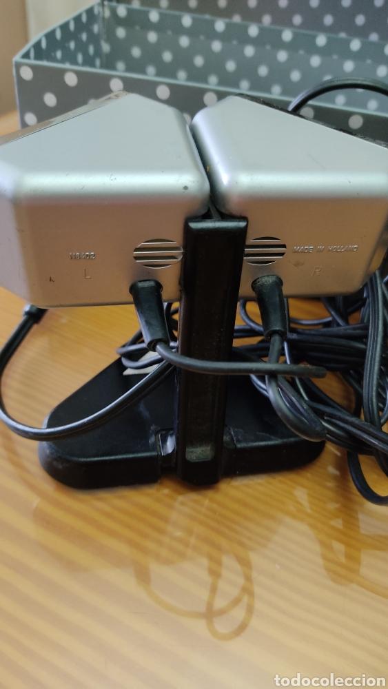 Radios antiguas: Antiguo microfono stereo PHILIPS N8402 - Foto 5 - 243993870