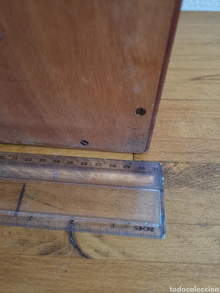 Radios antiguas: Bafle para Radio Hispano Suiza. De madera. Altavoz - Foto 2 - 244701520