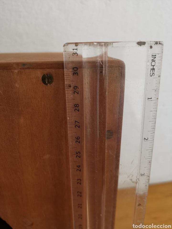 Radios antiguas: Bafle para Radio Hispano Suiza. De madera. Altavoz - Foto 3 - 244701520