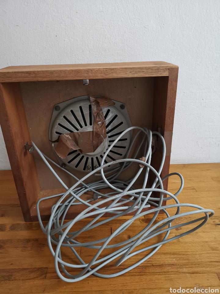 Radios antiguas: Bafle para Radio Hispano Suiza. De madera. Altavoz - Foto 5 - 244701520