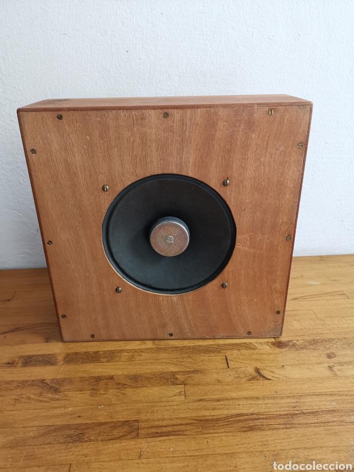 BAFLE PARA RADIO HISPANO SUIZA. DE MADERA. ALTAVOZ (Radios, Gramófonos, Grabadoras y Otros - Amplificadores y Micrófonos de Válvulas)