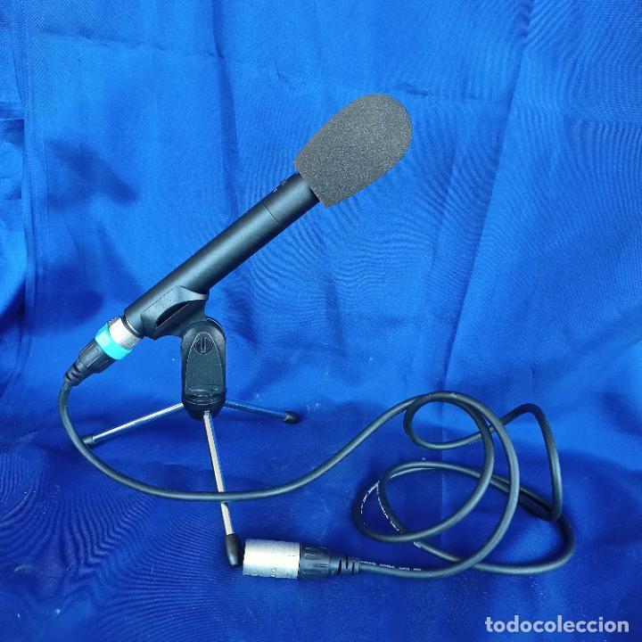 Radios antiguas: Micrófono condensador fonestar FCM 440 con trípode y espuma - Foto 5 - 248704060