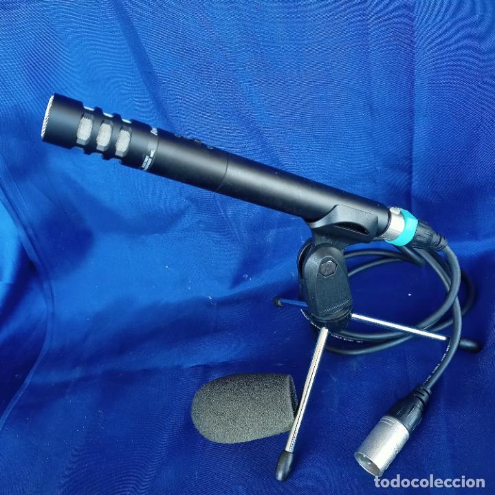 MICRÓFONO CONDENSADOR FONESTAR FCM 440 CON TRÍPODE Y ESPUMA (Radios, Gramófonos, Grabadoras y Otros - Amplificadores y Micrófonos de Válvulas)