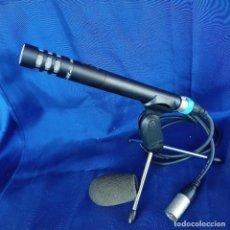Radios antiguas: MICRÓFONO CONDENSADOR FONESTAR FCM 440 CON TRÍPODE Y ESPUMA. Lote 248704060