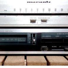 Radios antiguas: AMPLIFICADOR JVC + RADIO MARANTZ. Lote 251164680