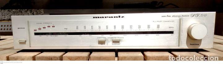 Radios antiguas: Amplificador JVC + Radio MARANTZ - Foto 4 - 251164680