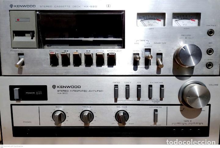 AMPLIFICADOR KENWOOD (GARANTÍA) + CASSETTE DECK (PLETINA) KENWOOD (Radios, Gramófonos, Grabadoras y Otros - Amplificadores y Micrófonos de Válvulas)