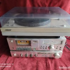 Radios Anciennes: EQUIPO DE MUSICA SONY, AMPLIFICADOR , TOCADISCOS Y CASSETTE (VIDEO). Lote 251897970