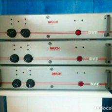 Radios Anciennes: RAUCH PRECISION DVT 50S VINTAGE POWER AMPLIFIER (FUNCIONAN) - VENTA POR SEPARADO. Lote 252306670
