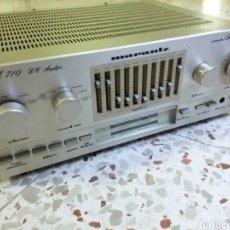 Radios antiguas: AMPLIFICADOR MARANTZ, JM.710,FUNCIONA. Lote 252912390