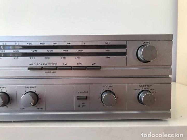 Radios antiguas: AMPLIFICADOR & Radio SHARP SA-11 - Foto 3 - 253127475