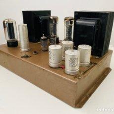 Radios antiguas: AMPLIFICADOR VÁLVULAS. Lote 253599490