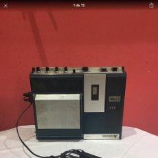 Radios antiguas: ANGLOTUTOR CASSETTE CK 8402 CON SU MICRÓFONO. VER FOTOS. Lote 254106665