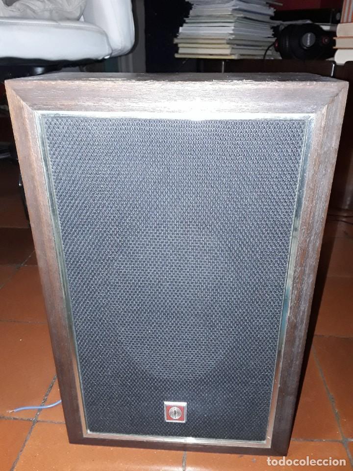 ALTAVOZ PIONEER MADERA VINTAGE. (Radios, Gramófonos, Grabadoras y Otros - Amplificadores y Micrófonos de Válvulas)