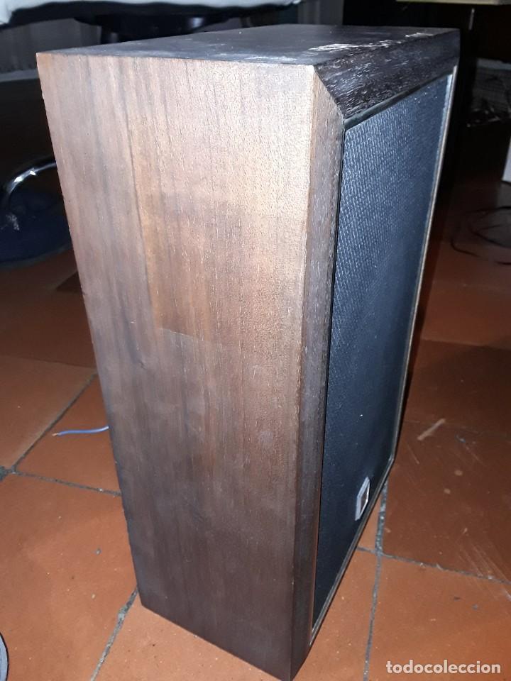 Radios antiguas: Altavoz PIONEER madera vintage. - Foto 3 - 254453100