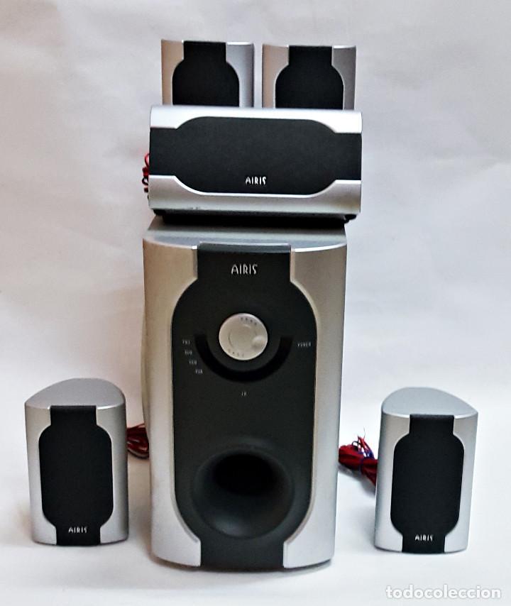 HOMECINEMA AIRIS L-163-C WIRELESS SURROUND 5.1 SYSTEM. (Radios, Gramófonos, Grabadoras y Otros - Amplificadores y Micrófonos de Válvulas)