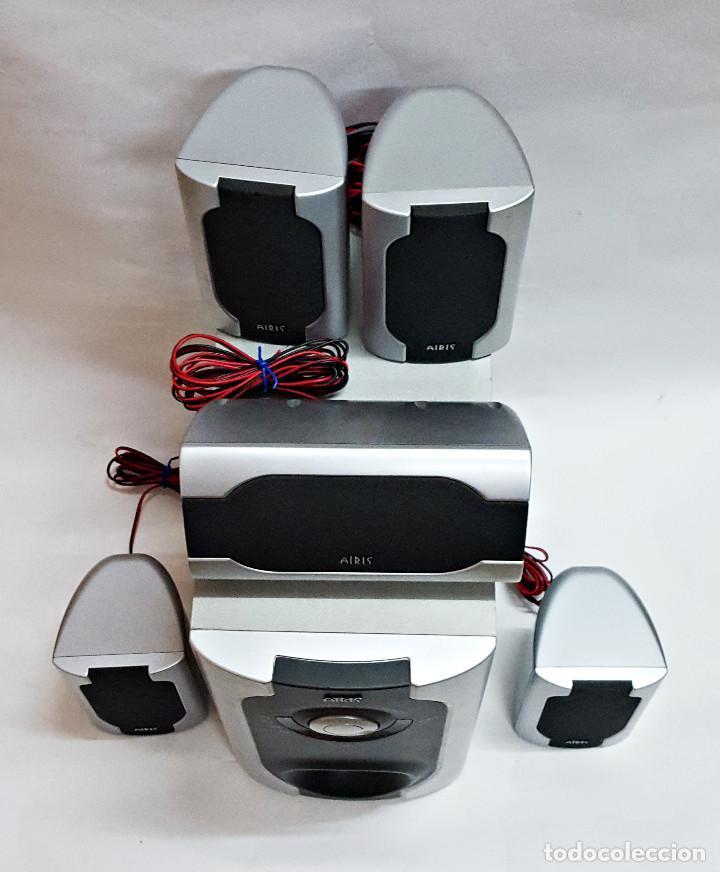 Radios antiguas: HOMECINEMA AIRIS L-163-C Wireless Surround 5.1 System. - Foto 2 - 254596405