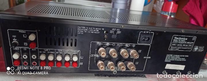 Radios antiguas: Technics amplificador integrado SU-VX500 - Foto 3 - 231597135