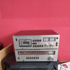Radios antiguas: AMPLIFICADOR PLATINA CASSETTE EUROPHON RCK 2000. VER LAS IMÁGENES. Lote 255348535