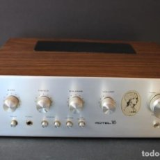 Radios antiguas: AMPLIFICADOR VINTAGE ROTEL YES. Lote 258500145
