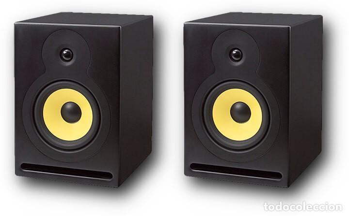 PAREJA DE ALTAVOCES MONITORES DE ESTUDIO FONESTAR MONITOR-100 COMPLETAMENTE NUEVOS (Radios, Gramófonos, Grabadoras y Otros - Amplificadores y Micrófonos de Válvulas)