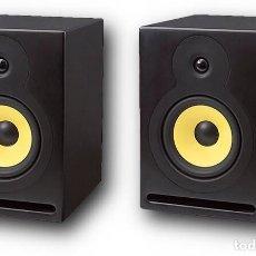 Radios antiguas: PAREJA DE ALTAVOCES MONITORES DE ESTUDIO FONESTAR MONITOR-100 COMPLETAMENTE NUEVOS. Lote 259040980