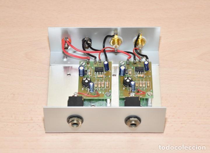 PREVIO ESTEREO DE MICRÓFONO - CEBEK PM2 (Radios, Gramófonos, Grabadoras y Otros - Amplificadores y Micrófonos de Válvulas)