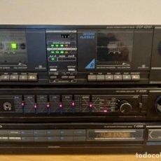 Radios antiguas: EQUIPO GRUNDIG V4200 AMPLIFICADOR DOBLE PLETINA CASETTE TAPE Y RADIO FUNCIÓNA TODO. Lote 58072623