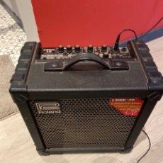 Rádios antigos: AMPLIFICADOR ROLAND CUBE - 30 . FUNCIONA. VER FOTOS. Lote 263940810