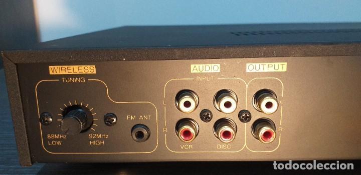 Radios antiguas: *** AMPLIFICADOR DE AUDIO *** VSK. Modelo LD100-kga .. - Foto 8 - 264251364
