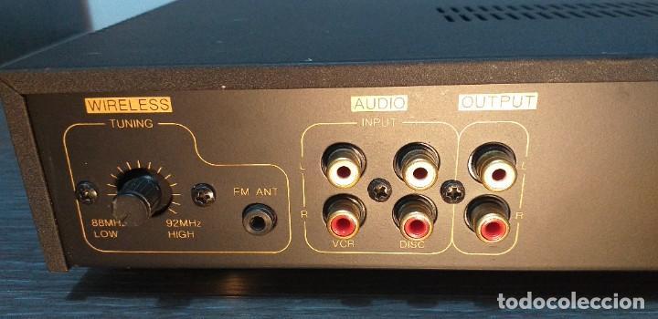 Radios antiguas: *** AMPLIFICADOR DE AUDIO *** VSK. Modelo LD100-kga .. - Foto 10 - 264251364
