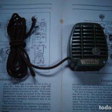 Radios antiguas: MICROFONO. Lote 266094758