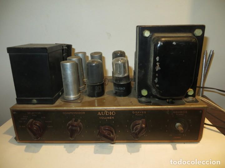 AMPLIFICADOR DE VALVULAS MUY ANTIGUO MODELO B-60 DESCONOZCO SI FUNCIONA,BARATO (Radios, Gramófonos, Grabadoras y Otros - Amplificadores y Micrófonos de Válvulas)