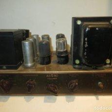 Radios antiguas: AMPLIFICADOR DE VALVULAS MUY ANTIGUO MODELO B-60 DESCONOZCO SI FUNCIONA,BARATO. Lote 267445869