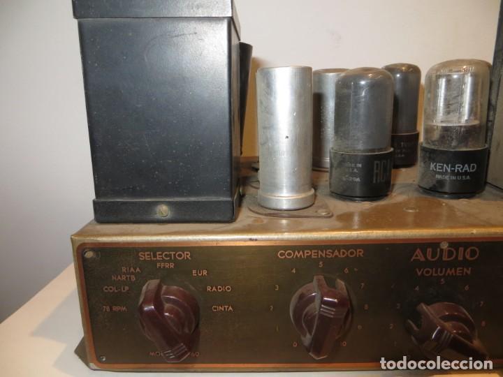 Radios antiguas: AMPLIFICADOR DE VALVULAS MUY ANTIGUO MODELO B-60 DESCONOZCO SI FUNCIONA,BARATO - Foto 2 - 267445869