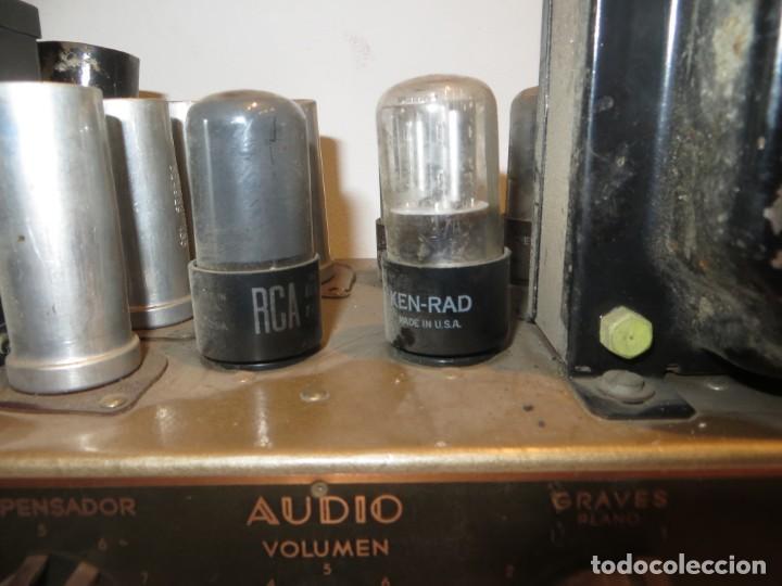 Radios antiguas: AMPLIFICADOR DE VALVULAS MUY ANTIGUO MODELO B-60 DESCONOZCO SI FUNCIONA,BARATO - Foto 3 - 267445869
